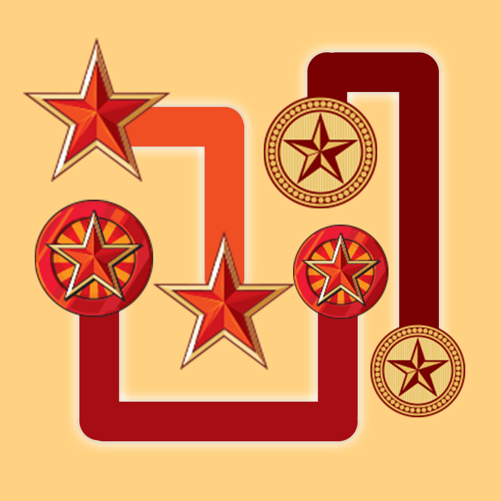 AAA  Star Flow Free Puzzle Game - Match and Connect the Star Pairs
